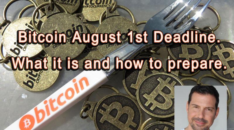 Bitcoin Fork Deadline