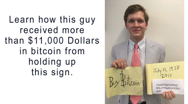 Buy Bitcoin Sign