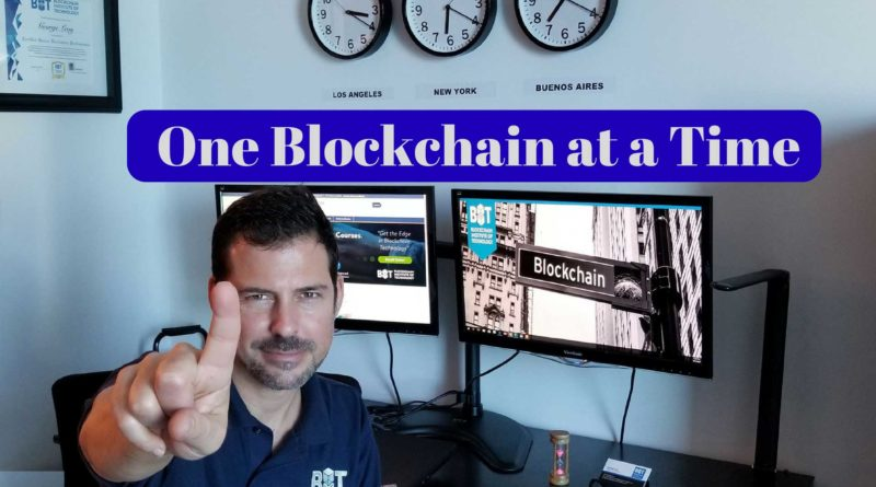 George Levy - One Blockchain at a Time