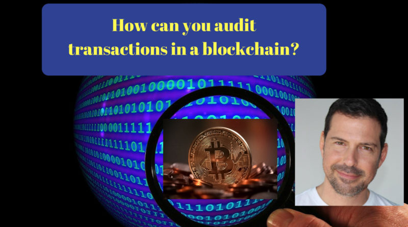 Audit Bitcoin Transactions