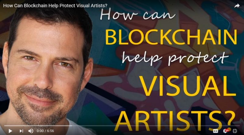 Blockchain for Visual Arts